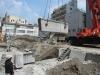 元町6丁目計画:既存構造物撤去工事